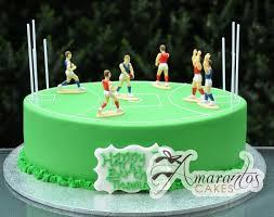 Afl Footy Field Cake Nc757 Amarantos Cakes