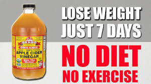 NO DIET, NO EXERCISE - How To Lose Weight With Apple Cider Vinegar ...