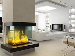 modern contemporary electric fireplace — aio contemporary styles