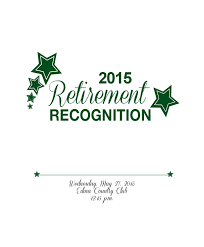 2015 Edina Public Schools Retirement Recognition By Edina