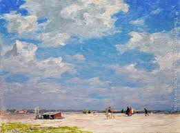 aliexpress com landcape oil painting beach scene edward henry potthast painting high quality hand painted landscape art home decor from reliable