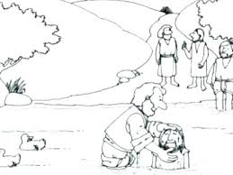 Collection Of Baptism Coloring Pages Download Them And Try To Solve