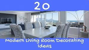 20 modern living room decorating ideas