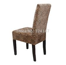 animal print dining chair covers new arrival gold velvet font b leopard print all plus remarkable themes