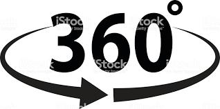 角度 360 度記号アイコン 360度視点のベクターアート素材や画像を多数