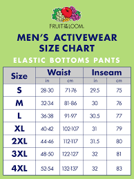 Fruit Of The Loom Mens Dual Defense Eversoft Elastic Bottom Sweatpants