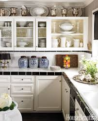 ... Awesome Kitchen Cabinets Decor And Design Ideas For The Space Above  Kitchen Cabinets Decorating ...