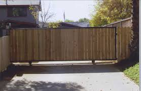 How To Build A Driveway Gate For A Wood Fence
