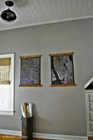 and easy diy wooden poster hangers