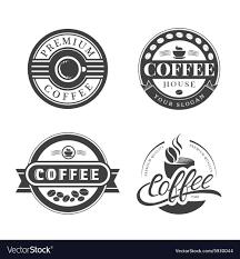 Vintage Logo Vector Coffee Vintage Logo Royalty Free Vector Image Vectorstock
