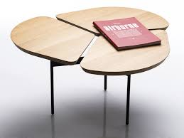 low oak coffee table miss trÈfle
