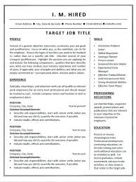 Combination Resume Template Word Combination Resume Template Sample ...
