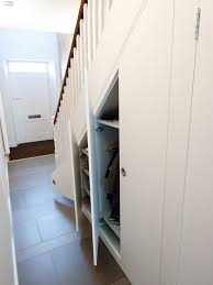 awesome understairs shoe storage designs contemporary hall with under stair storage for coat closet and