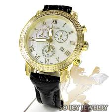 mens joe rodeo diamond watches joe rodeo watches joe rodeo watch mens joe rodeo yellow pearl classic diamond watch 1 75ct jcl23