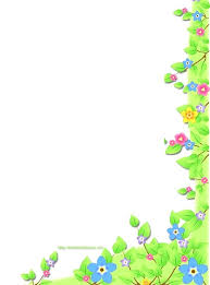 Floral Stationery Template Free Border Templates Free Floral Free