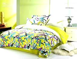 blue green duvet cover and brown bedding sets stripe lime king size full qu