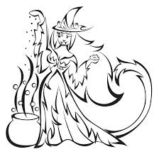 Small Picture halloween coloring pages Wicked Witch Coloring Pages