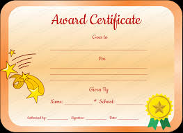 Download Award Certificate Templates Core Value Award Certificate Template For Students