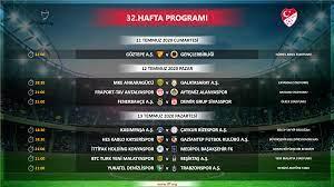 Süper Lig 32. hafta programında değişiklik - Süper Lig Haberleri TFF