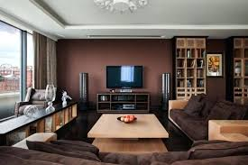 brown accent walls living room living room with brown walls com chocolate brown accent wall living brown accent walls
