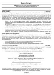 Compliance Resume Inspiration Finance Resume Examples Resume Professional Writers