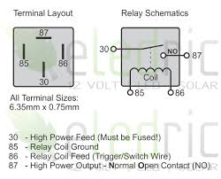 wiring diagram for prong relay wiring image 12v 5 pin relay wiring diagram jodebal com on wiring diagram for 5 prong relay