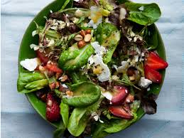 mixed green salad with strawberries.  Strawberries 200x250201206rbabylettuceswithfetastrawberries On Mixed Green Salad With Strawberries