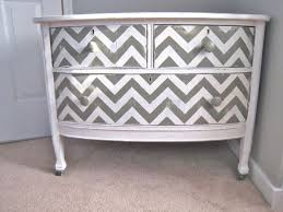 chevron painted furniture. Chevron Painted Dresser ~ DIY Furniture N