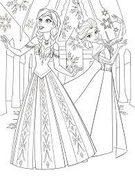 Frozen Elsa Coloring Pages Getcoloringpagescom