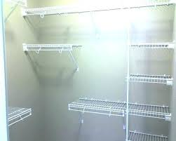 installing wire shelving wire closet shelving wire closet shelving wire closet shelving image of closet wire