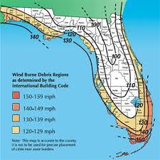 free hurricane garage door evaluation hurricane wind zone map