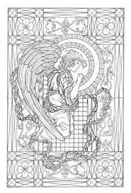 Small Picture Angel coloring page Angels Coloring Pages for Adults Pinterest