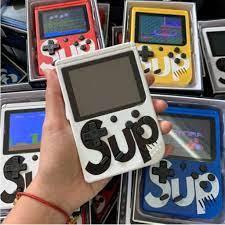 Máy chơi game cầm tay sup 400 in 1 có sẵn 400 trò, máy chơi game Mario, máy  chơi game mini