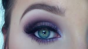 purple eyeshadow makeup tutorial from day to night jaclyn hill you
