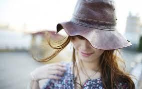 Girl Hat Wallpaper 43333 1680x1050px