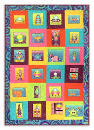 Panel Quilt Pattern – Jordan Fabrics & Out of This World! Adamdwight.com