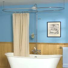 circular shower curtain rail lofty ideas circular shower curtain decorating elegant oval 4 half round shower