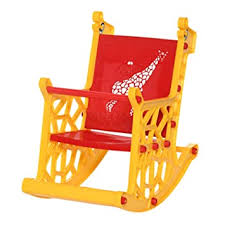 <b>Supreme</b> Giraffe Kids Plastic Chair (<b>Yellow</b>/<b>Red</b>): Amazon.in: Home ...