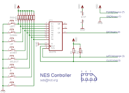 nesdev com • view topic snes controller schematic projects drogon net wp content uploads 2012 08 nes controller schematic png