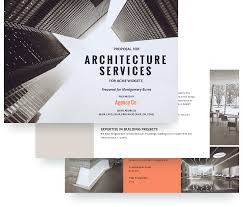 Architecture Proposal Template - Free Sample