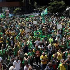 البرازيل: مسيرات مؤيدة لبولسونارو من دون مراعاة قيود التباعد الاجتماعي