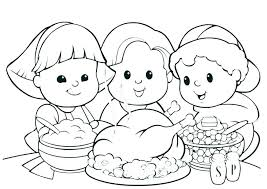 Happy Thanksgiving Coloring Pages To Print Thanksgiving Turkey
