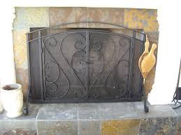 glen wesley s work 5 of 10 outdoor fireplace screen