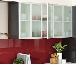 kaboodle kitchen frosted glass close up