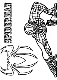 The coloring sheets featuring this teenage superhero are excellent for introducing your kids to the amazing world of comic books friendly neighborhood spiderman coloring page. Parentune Free Printable Black Spiderman Coloring Picture Assignment Sheets Pictures For Child