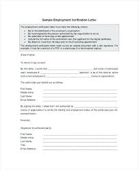 Employee Verification Letter | Nfcnbarroom.com
