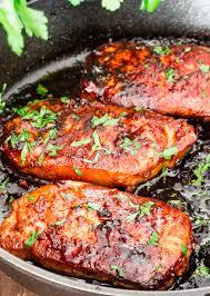 korean style pork chops jo cooks