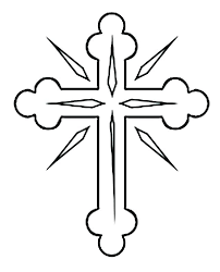 Coloring Page Of A Cross Coloring Page Cross Cross Color Page Cross