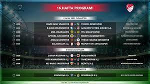 Süper Lig 16-21. hafta programları açıklandı - Süper Lig Haberleri TFF