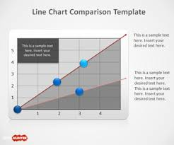 Free Line Chart Powerpoint Template Free Powerpoint